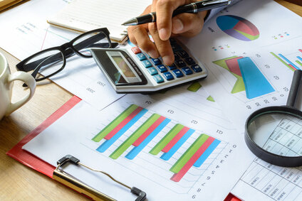 Too many credit inquiries on your credit report heres what you can businessman working on desk office business financial accounting calculate graph analysis whenever you check your credit reheart Choice Image